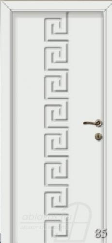85. számú festett beltéri ajtó minta