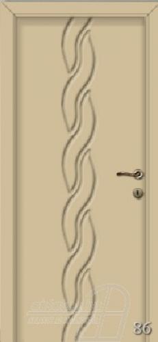 86. számú festett beltéri ajtó minta