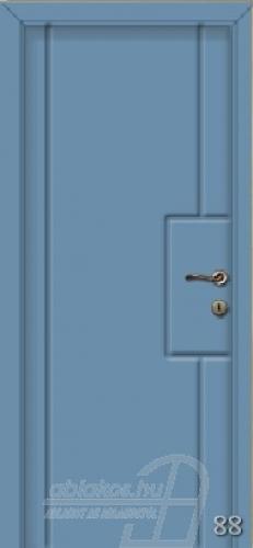 88. számú festett beltéri ajtó minta