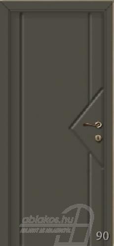 90. számú festett beltéri ajtó minta