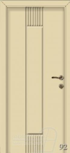 92. számú festett beltéri ajtó minta