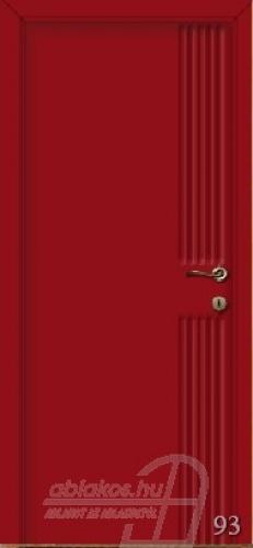 93. számú festett beltéri ajtó minta