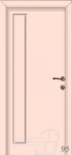 95. számú festett beltéri ajtó minta
