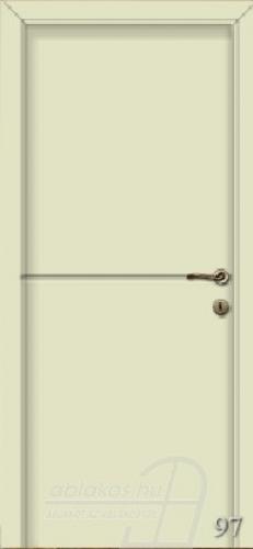 97. számú festett beltéri ajtó minta