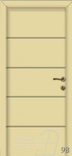 98. számú festett beltéri ajtó minta