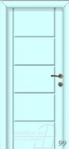 99. számú festett beltéri ajtó minta