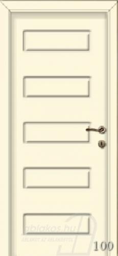100. számú festett beltéri ajtó minta