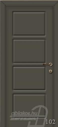 102. számú festett beltéri ajtó minta
