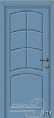 104. számú festett beltéri ajtó minta