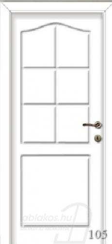 105. számú festett beltéri ajtó minta