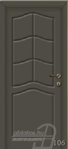106. számú festett beltéri ajtó minta